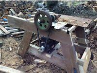 Log splitter, Screw type