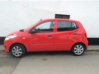 Hyundai i10 5 door - economical and reliable car £20 pa tax one owner