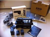 CANON XA10 WITH ACCESSORIES (IMMACULATE)