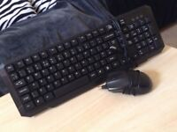 5 x Keyboards with desktop mouse
