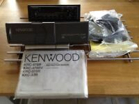 Kenwood radio/cassette/cd player