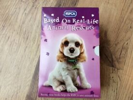 PSPCA Animal rescue pets x10 Children books box set