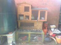Rabbit/Chicken hutches for sale