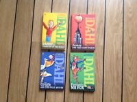 Roald Dahl books x 4 (new)