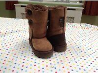 Celtic sheepskin boots