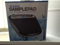 Alesis Sample Pad, 1 year old but never used, still boxed and controls covered in protective film.