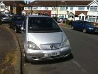 Mercedes Benz A 190 Automatic 2003 with private number plate