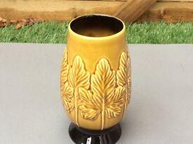 Sylvac sycamore design vase