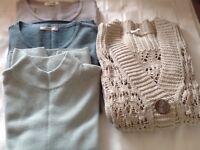 Bundle 4 m&s ladies knitwear size 10