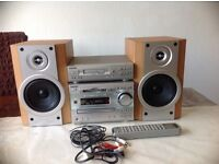 SONY Mini Hi-Fi System DHC-MD333 with Sony TC-TX Stereo Cassette Deck