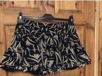 Top Shop size 10 skirt