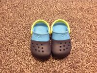 Child's genuine crocs