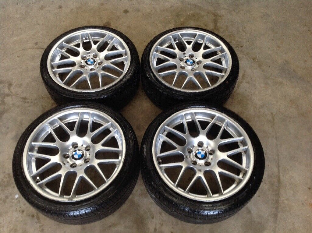 """19"""" STAGGERED BMW CSL WHEELS AND TYRES(VIVARO,M3 ..."""