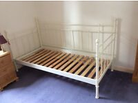 IKEA Day-Bed Frame (WHITE, Steel) - Excellent condition