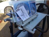 Scheppach sliding table saw