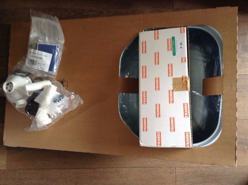 FRANKE 1 BOWL KITCHEN SINK WITH TAP DRAINER 860 X 500MM