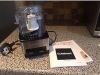 Cuisinart mini food processor new black and chrome rrp £45
