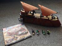 Lego Star Wars Jabba's Sail Barge 6210.