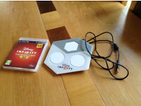 PS3 Disney Infinity 3.0 PlayStation Game Software Disc and Portal Base