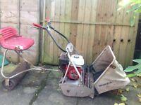 """Honda 24"""" petrol cylinder lawnmower"""
