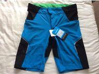Brand new Shimano Explorer cycling mountain bike shorts