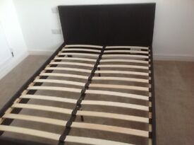 Brand new standard size double bed