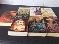 Selection of books by Philippa Gregory