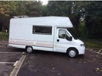 Peugeot boxer motorhome autohomes classique ts 4/5 berth 2.5 diesel with power steering