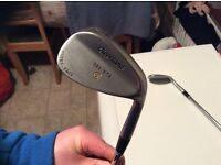 Mens Cleveland wedges, 588 RTX Rotex face 48 & 54