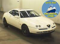 1998 Alfa Romeo GTV 50 KMs NO ACCDNT OIL-SERVICED PRE-ARRIVAL OF