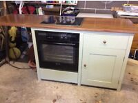 Plain English kitchen cupboards