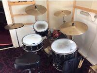 Premier vintage 1960's kit & Zildjian A vintage cymbals-rare set.