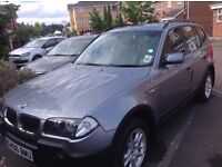 2006 BMW X3 Diesel Manual 4* 4 Excellent condition, Clean with FULL Service history- GBP 4100 or BO