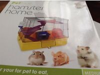 Hamster gerbil cage new and unopened