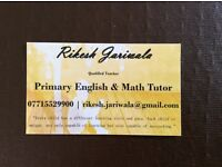 Primary Tutor Specialist