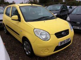 image for Kia, PICANTO, Hatchback, 2010, 1.1cc 84k FSH @ Aylsham Road Affordable Cars