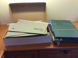 90 Foolscap suspension files in good condition