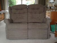 Electric recliner 2 seater sofa