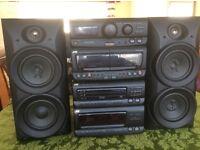JVC Compact HI FI Stereo System