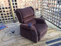 Electric Lift/Riser Assisted Recliner Chair, Armchair Free Delivery