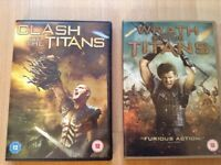 Clash Of The Titans DVD & Wrath Of The Titans DVD.