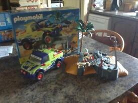 Playmobil off road jeep 4421