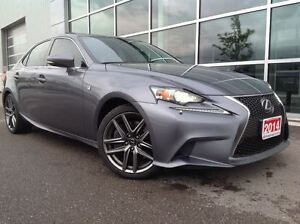 2014 Lexus IS 350 F SPORT !!!JUST TRADED IN !!!