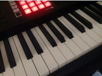 Roland fa08 keyboard +case