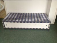 Single divan bed base only FREE