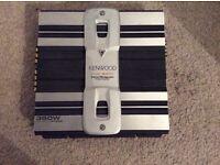 Kenwood 350w stereo amp, car