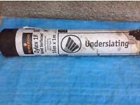 1no Roll of Ruberoid underslaters Roofing Felt