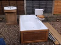 Heritage Bath and Sink Unit