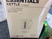 Essential kettle brand new in box