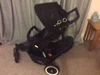 Phil and teds single to double buggy